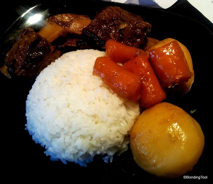 Beef Spare Rib Stew w Rice