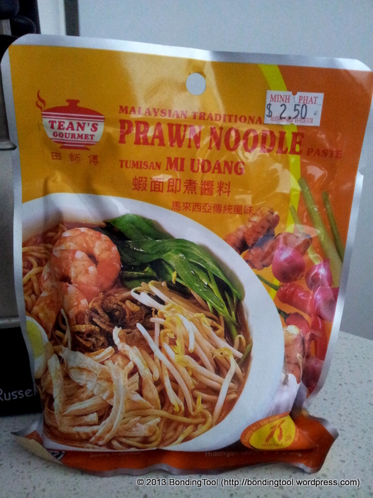 Prawn Noodle Paste