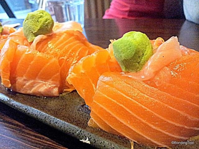 Ajisen Salmon Sashimi 2