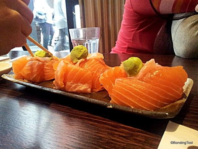 Ajisen Salmon Sashimi