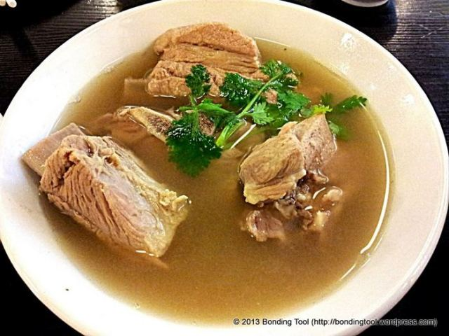 BKT short for Bak Kut Teh is Singapore's Famous Peppery Pork Soup but there are many other varieties offered in the region - Kuala Lumpur or simply KL Bak Kut Teh and Pasang Dry Bkh Kut Teh, to name a few.