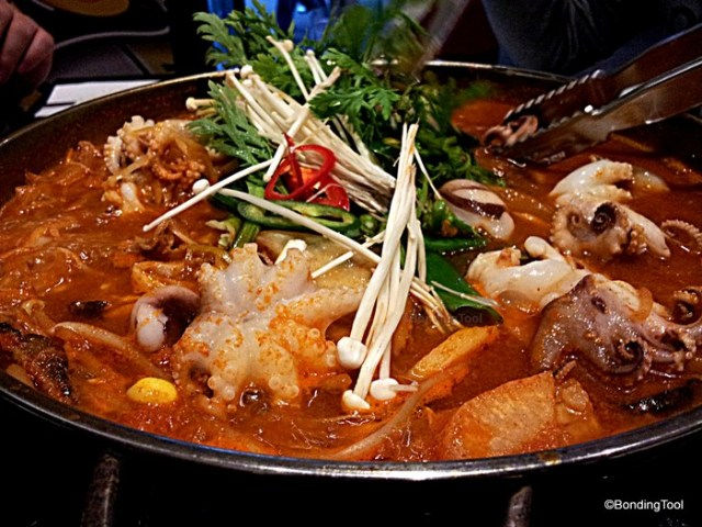 Beef and Octopus Hotpot 1 By Korea