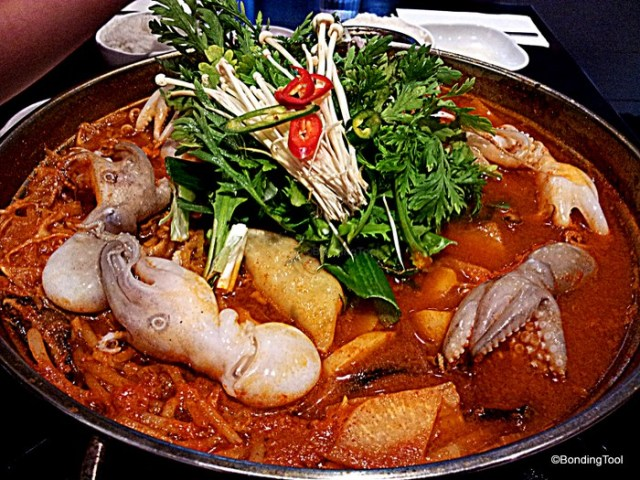 Beef and Octopus Hotpot By Korea
