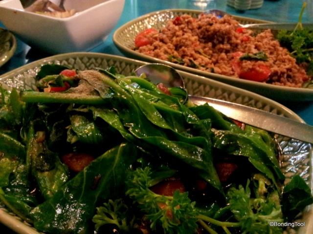 Chinese Broccoli with Roast Pork©BondingTool