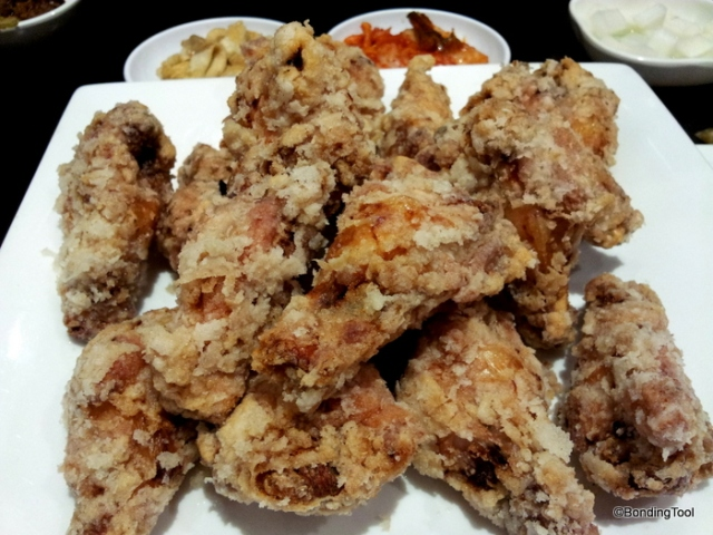 Fried Korean Chicken By Korea