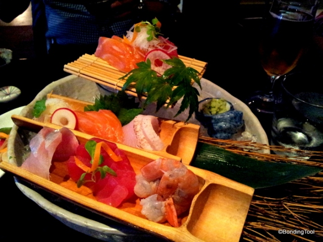 Hanabishi Jap Rest Melbourne Assorted Sashimi