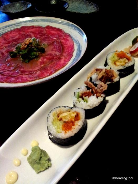 Hanabishi Jap Rest Melbourne Soft Shell Crab Sushi Roll