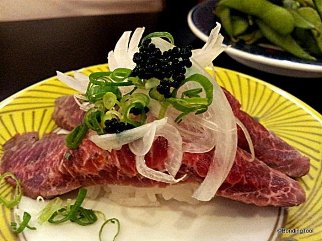 Hanaichi Sushi Bar Dining 4 beef tataki