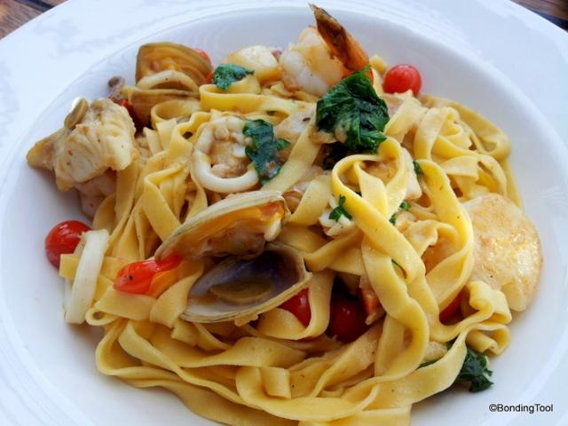 Seafood Linguine 4