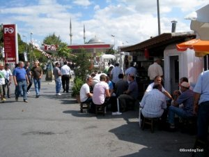 Tea at Kabatas Istanbul