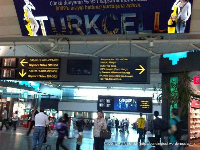 1-Istanbul, Ataturk Airport, Turkey.