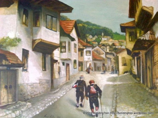 65Painting of old Bosnia