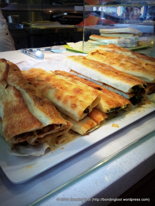 Assorted Borek at  Borek Bakehouse ©BondingTool