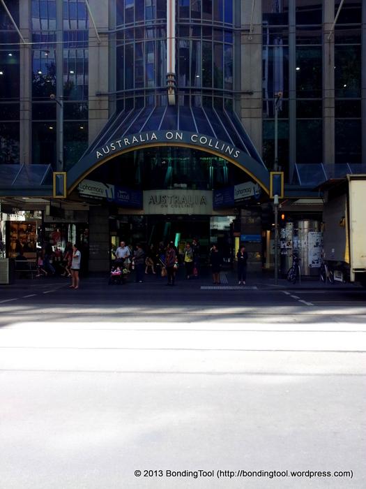 Australia on Collins©BondingTool