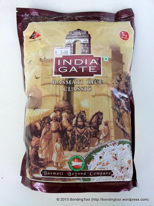 Basmati Rice Classic Raw©BondingTool