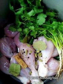 Chicken For Nasi Briyani©BondingTool