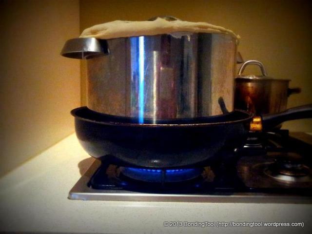 Cooking Nasi Briyani©BondingTool