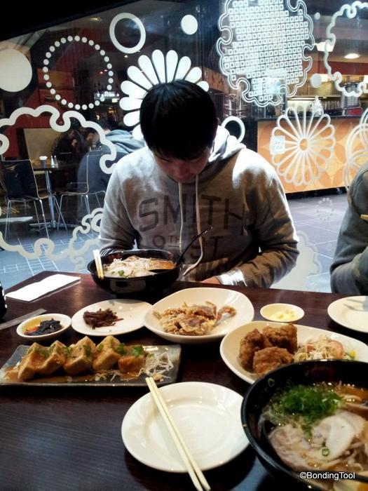 Dining at Ajisen Ramen Melbourne ©BondingTool