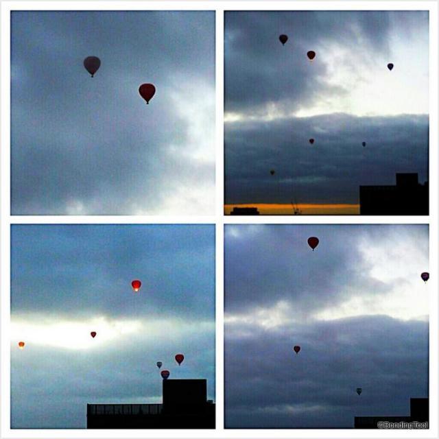Hot Air Balloons Melbourne NYE Morning ©Bonding Tool