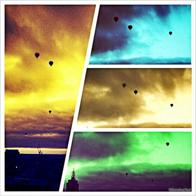 Hot Air Balloons Melbourne NYE Morning