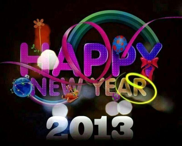 Kiss 2012 Goodbye and Hello 2013!