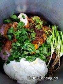 Marinated Chicken For Nasi Briyani0©BondingTool