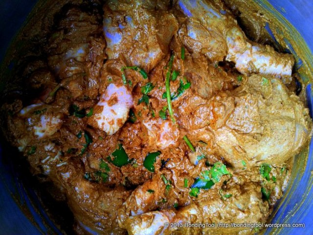 Marinated Chicken For Nasi Briyani1©BondingTool