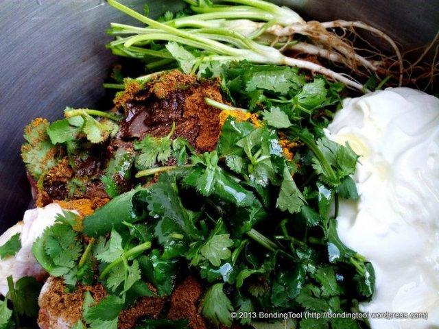 Marinated Chicken For Nasi Briyani©BondingTool