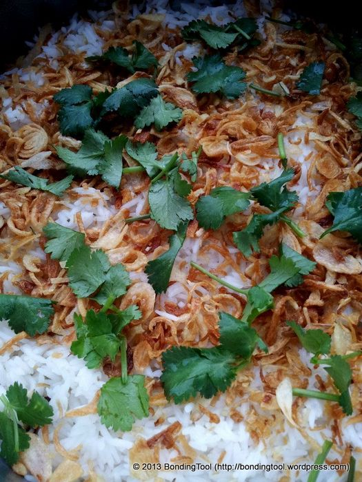 Nasi Briyani Rice©BondingTool