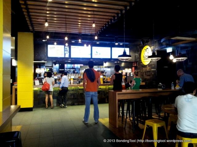 Order Station Guzman Y Gomez©BondingTool