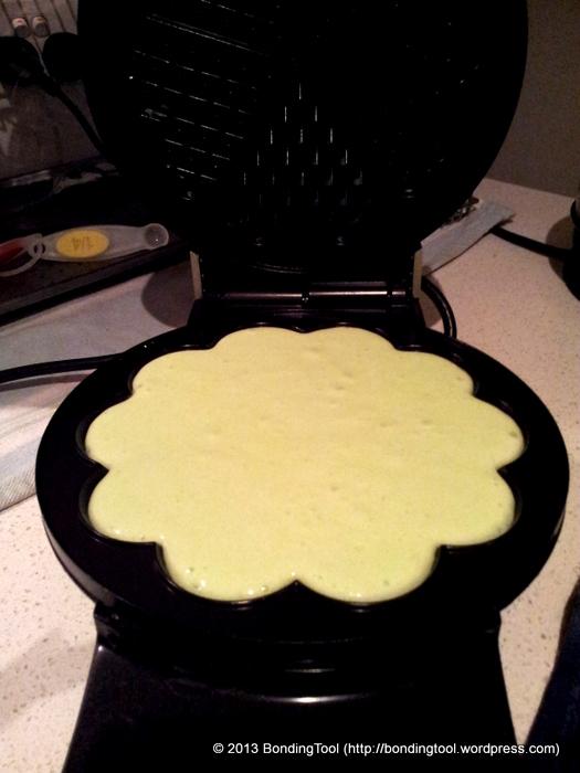 Pandan Flavoured Waffles2©BondingTool