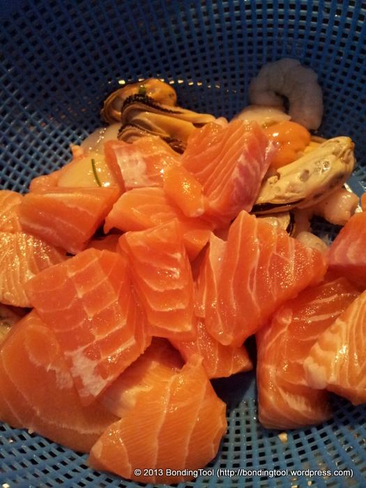 Salmon Seafood Bite Size©BondingTool