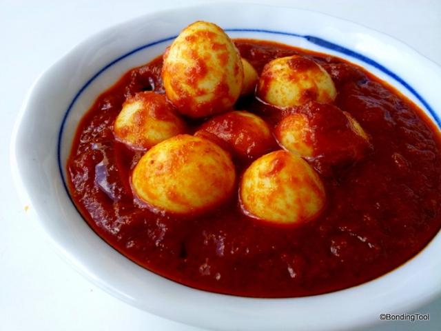 Sambal Quail Eggs