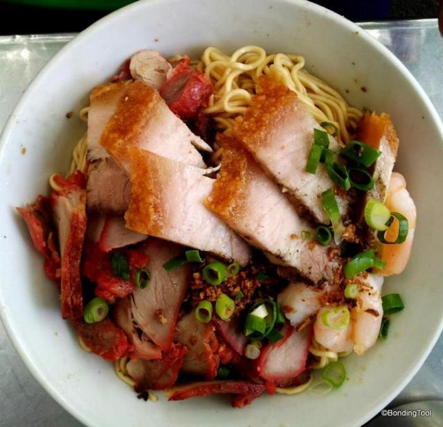 Special Pork Noodles with Pork Organ Soup Kitchen Inn Elizabeth St©BondingTool