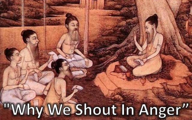 Why Do We Shout When We Are Angry?