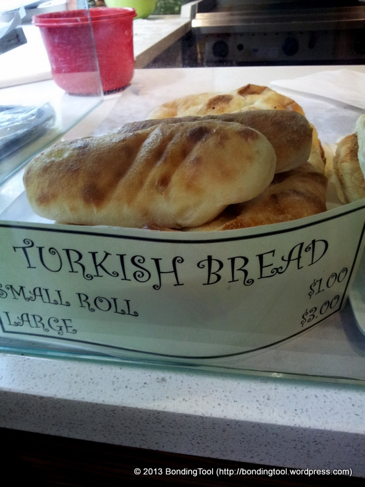 Turkish Bread at Borek Bakehouse ©BondingTool