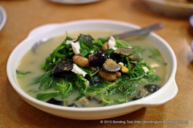 2 Egg Spinach Kok Sen©BondingTool