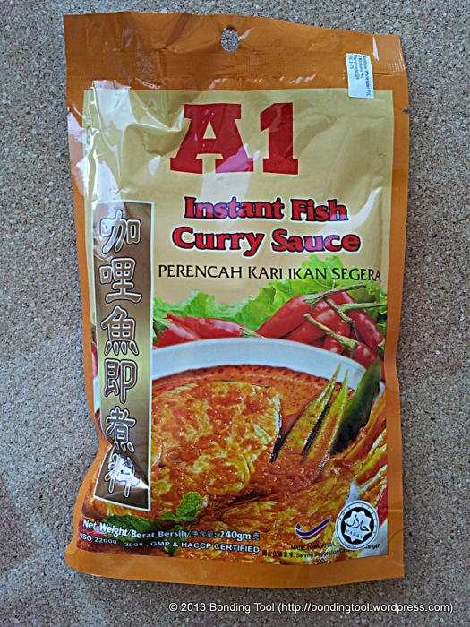 A1 Fish Curry Sauce
