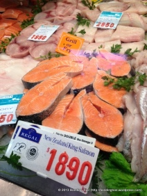 Salmon from Queen Victoria Market, Malbourne, Australia.