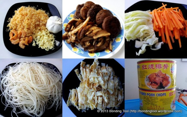 Fried Beehoon Ingredients2©BondingTool