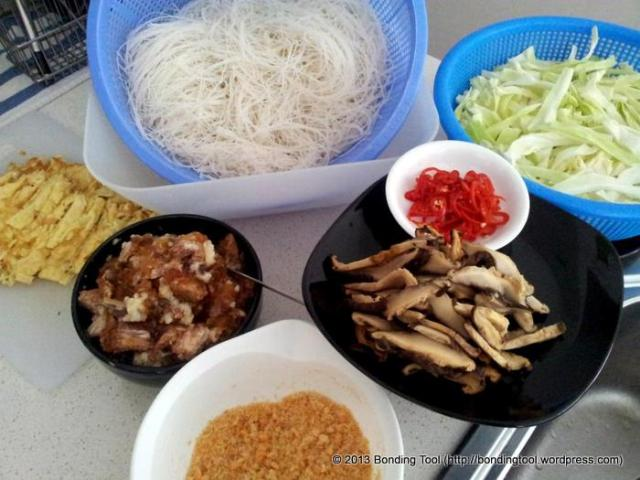 Fried Beehoon Ingredients©BondingTool