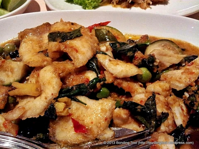Grouper in Spicy Sauce Thai©BondingTool