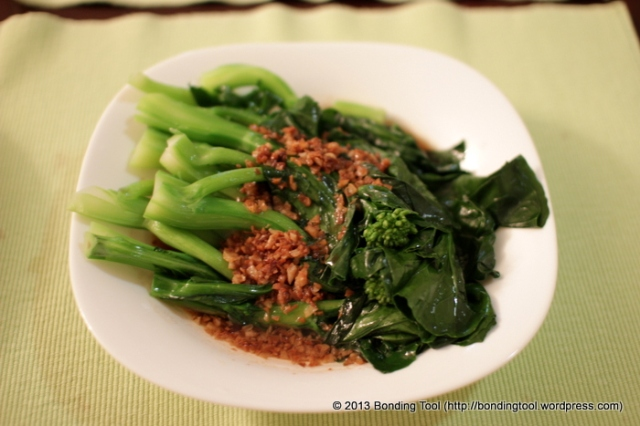 Quickie Chinese Broccoli