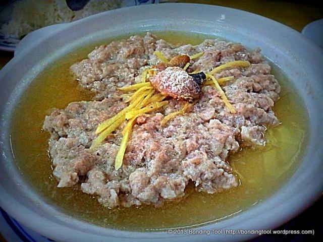 Salted Fish Pork Patty Hong Kong Street Chun Tat Kee at Balestier©BondingTool
