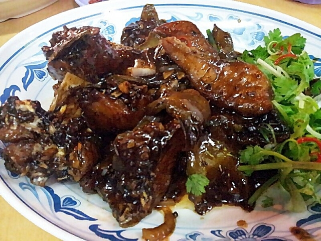 Stir Fried Fish Head with Black Beans Kok Sen©BondingTool (2)