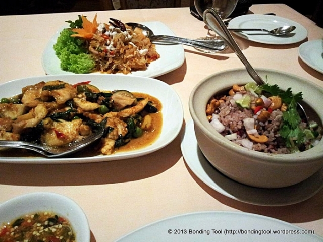 Thai Meal at Thanying©BondingTool