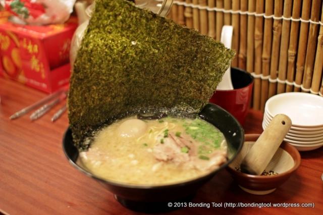 Tonkotsu Ramen with Seaweed1©BondingTool