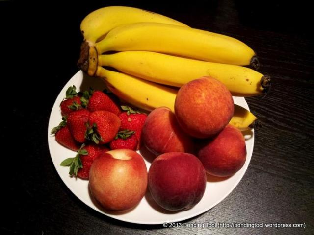 Fresh fruits that may be suitable for your oat porridge :)