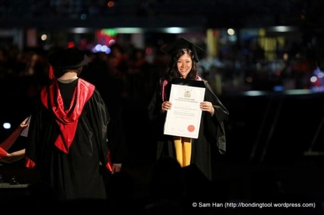 Van Graduation©BondingTool