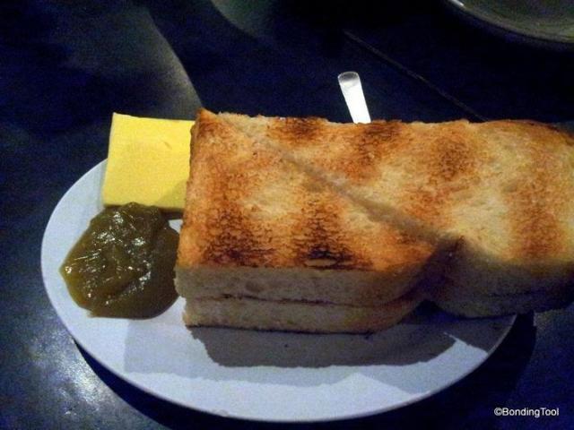 Butter and Kaya Toast.